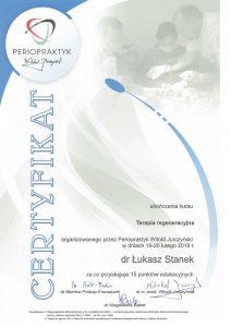 LEK. DENT. ŁUKASZ STANEK - Terapia regeneracyjna