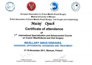 LEK-DENT-MACIEJ-OPACH-Maxillary-sinus-diseases