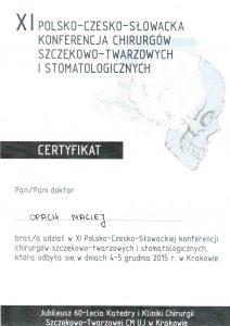 LEK-DENT-MACIEJ-OPACH-XI-polsko-czeska-slowacka-konferencja-chirurgow-szczekowo-twarzowych-i-stomatologicznych