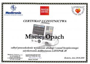 LEK-DENT-MACIEJ-OPACH-obsluga-i-zasady-bezpiecznego-uzytkowania-defiblyratora-LIFEPAK20