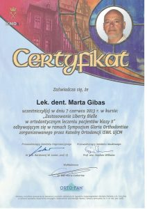 marta-gibas-ortodonta-certyfikat